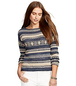 Lauren Jeans Co.® Patterned Sweater
