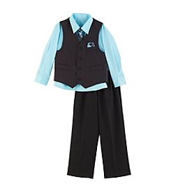 Van Heusen® Boys' 3-Piece Stripe Vest Set