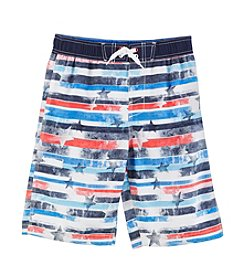 Mambo® Boys' 4-7 Stars & Stripes Swim Trunks