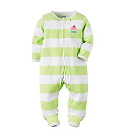 Carter's® Baby Girls' Cupcake Striped Footie