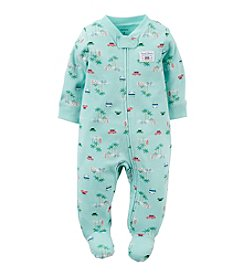 Carter's® Baby Boys Beach Printed Footie