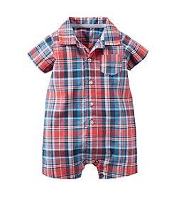 Carter's® Baby Boys' Plaid Romper