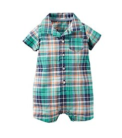 Carter's® Baby Boys' Plaid Romper