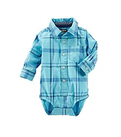 OshKosh B'Gosh® Baby Boys' 12-24 Month Plaid One Piece
