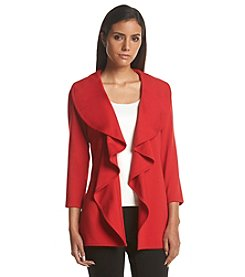 Calvin Klein Ponte Waterfall Jacket