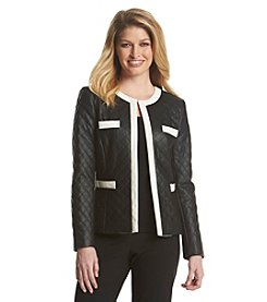 Tahari ASL® Quilted Suit Jacket