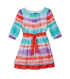A. Byer Girls' 7-16 Printed Chiffon Dress
