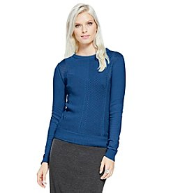 Vince Camuto® Mix Stitch Sweater