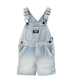 OshKosh B'Gosh® Baby Boys' Engineer Striped Denim Shortalls