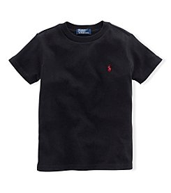 Ralph Lauren® Baby Boys Short Sleeve Solid Tee