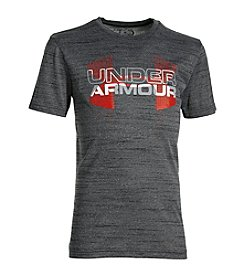 Under Armour® Boys' 8-20 UA Tech™ Big Logo Hybrid Sleeve Tee