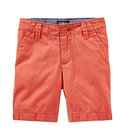 OshKosh B'Gosh® Boys' 2T-7 Flat Front Shorts