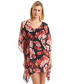 Calvin Klein Printed Tunic Cover-Up