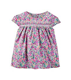 Carter's® Girls' 2T-6X Floral Patterned Woven Top