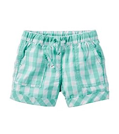 Carter's® Girls' 2T-6X Plaid Woven Shorts