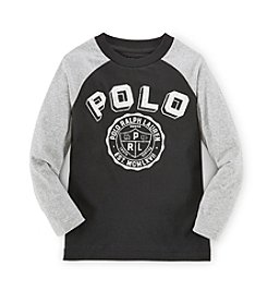 Ralph Lauren Childrenswear Boys' 8-20 Long Sleeve Graphic Shirt