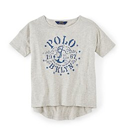 Polo Ralph Lauren® Girls' 2T-16 Short Sleeve Graphic Tee