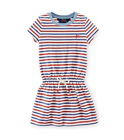 Ralph Lauren Childrenswear Girls' 2T-16 Striped Dress