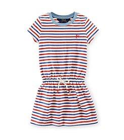 Ralph Lauren Childrenswear Girls' 2T-16 Striped Dress