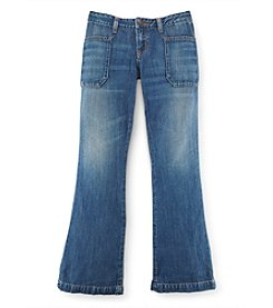 Polo Ralph Lauren® Girls' 2T-16 Denim Flare Jeans
