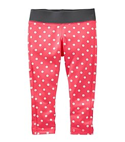 OshKosh B'Gosh® Girls' 2T-6X Dot Pattern Active Pants