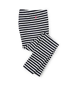 Polo Ralph Lauren® Girls' 2T-16 Multi-Stripe Jersey Leggings