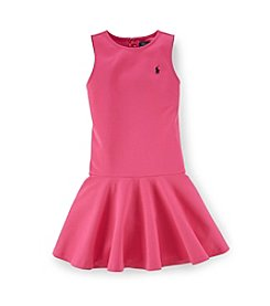 Ralph Lauren Childrenswear Girls' 2T-16 Activewear Ponte Dress
