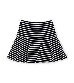 Ralph Lauren Childrenswear Girls' 2T-16 Striped Fit And Flare Skirt