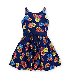 Ralph Lauren Childrenswear Girls' 2T-16 Fit And Flare Floral Dress
