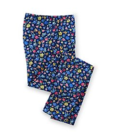 Ralph Lauren Childrenswear Girls' 2T-16 Floral Patterned Leggings