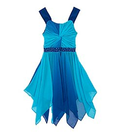 Tween Diva by Rare Editions Girls' 7-16 Ombre Chiffon Dress