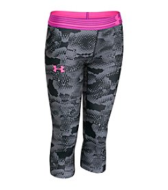 Under Armour® Girls' 7-16 Heatgear Printed Capris