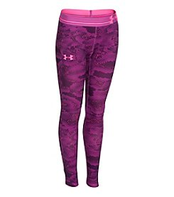 Under Armour® Girls' 7-16 HeatGear® Printed Leggings