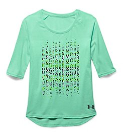 Under Armour® Girls' 7-16 3/4 Length Sleeve Surge Top
