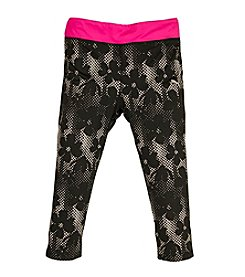 PUMA® Girls' 2T-6X Techno Lace Capri Leggings