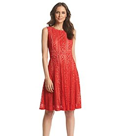 Sangria™ Lace Fit And Flare Dress