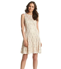 Ronni Nicole® Sequin Paisely Lace Dress