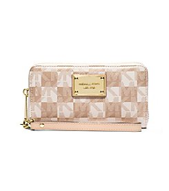 MICHAEL Michael Kors® Jet Set Travel Large Metallic Smartphone Wristlet