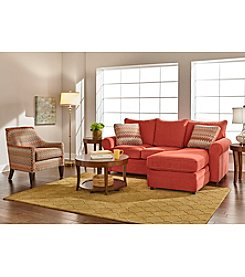 Emeraldcraft Desantis Sofa Chaise and Accent Chair Collection