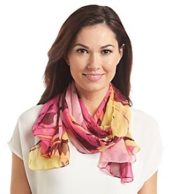 Collection 18 Brushed Flower Scarf