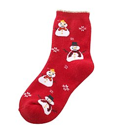Legale® Snowman Holiday Socks
