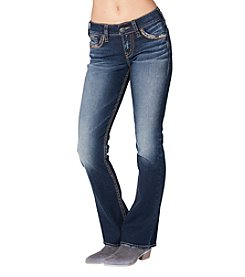 Silver Jeans Co. Suki Mid Rise Bootcut Jeans