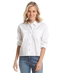 Hippie Laundry High-Low Chambray Shirt