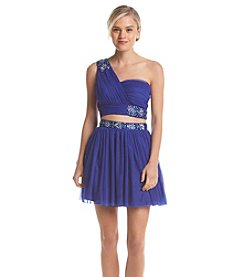 Bee Darlin' Two Piece Jeweled Dress