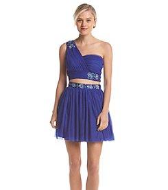 Bee Darlin' Two Piece Jeweled Dress