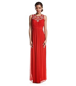 Trixxi® Beaded Illusion Dress