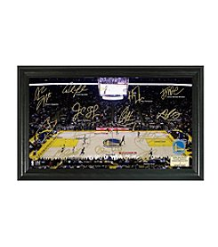 NBA® Golden State Warriors Signature Court by Highland Mint