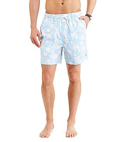 Nautica® Men's Floral Printed Swim Trunks