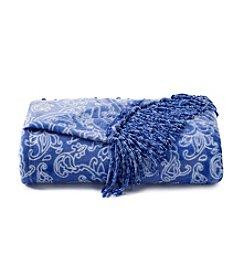 Cuddl Duds® Blue Velvet Throw