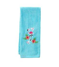 LivingQuarters Flamingo Hand Towel
